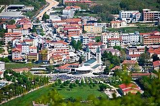 Medjugorje - View of St. James Church and Medjugorje