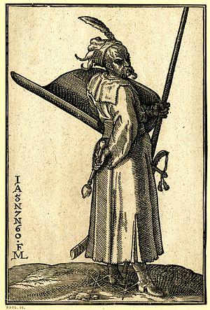 Dizdar - Turkish warrior from the 16th century (author: Melchior Lorck)