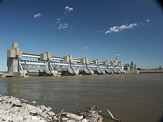 Melvin Price Locks and Dam - Image: Melvin Price Dam