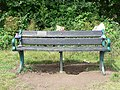 Memorial Bench for Gerald James Hopkins, Ernesettle, Plymouth - geograph.org.uk - 1147374.jpg