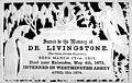 Memorial card, David Livingstone, 1813-1873 Wellcome M0013488.jpg