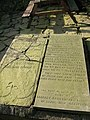 Memorial stone next to Lower Grainings - geograph.org.uk - 343982.jpg