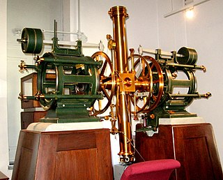 Transit instrument astronomical instrument