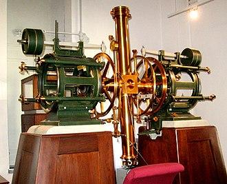 Kuffner Observatory - Image: Meridian Circle Kuffner Observatory