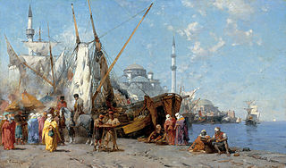 Market in Constantinople