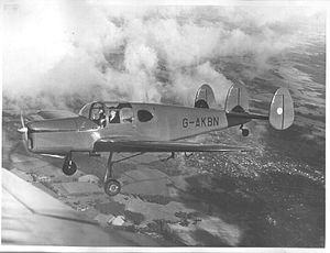 Miles Aircraft - M38 Miles Messenger G-AKBN photographed circa 1951