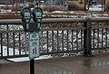 Metered Parking and Bike Lane on 3rd Avenue Bridge - Cedar Rapids, Iowa (24687623329).jpg