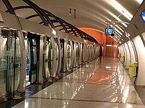 Metro Paris - Ligne 14 - station Olympiades 05.jpg