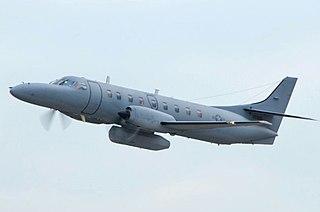 Fairchild C-26 Metroliner Military transport aircraft