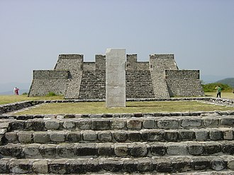 Xochicalco - Pyramids in Xochicalco