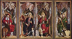 Michael Pacher: Altarpiece of the Church Fathers