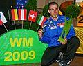 Michael Stocker Grass Skiing World Championships 2009 Silver Medal Slalom 2.jpg