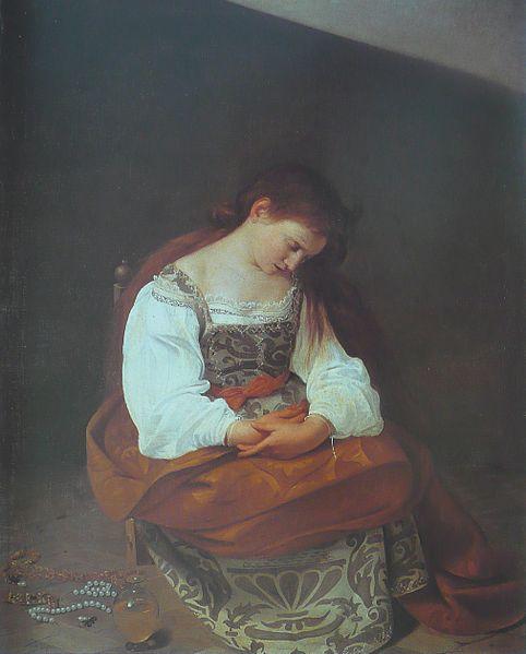 File:Michelangelo Merisi da Caravaggio - Madeleine repentante.jpg