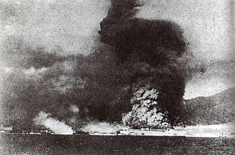 Black Sea Raid - Novorossiysk harbour bombarded by the cruiser Midilli