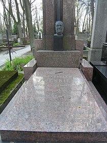 Mieczysław Frenkiel grób.JPG