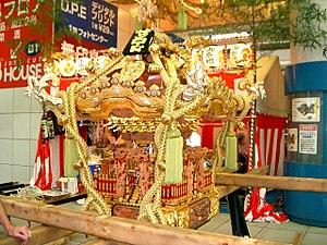 Portable shrine - Japanese mikoshi