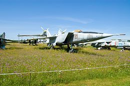 Mikoyan-Gurevich MiG-25RB @ Central Air Force Museum 01.jpg