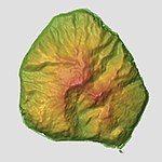 Mikurajima Relief Map, SRTM-1.jpg