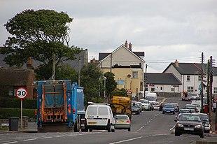 Millisle Main Street, August 2006