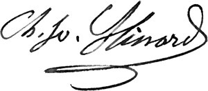 Charles Joseph Minard - Image: Minard signature