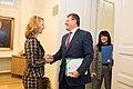 Minister for European Affairs Tytti Tuppurainen and Vice President of the European Commission Maroš Šefčovič meeting in Helsinki 2.12.2019 (49157797897).jpg
