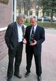 Mironov and Kostiuk talking, April 2007.png