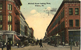 South Downtown - Hotel Row in the early 20th century