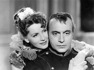Conquest (1937 film) - Greta Garbo and Charles Boyer in Conquest