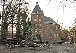 The castle of Moers