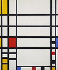 Mondrian - Trafalgar Square, 1939-43.jpg