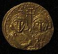 Monete d'oro di giustiniano II e tiberio IV, 705-711, 02, 3.jpg