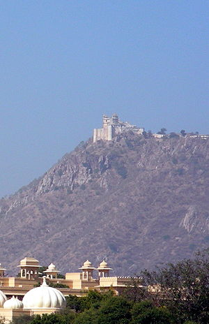Monsoon Palace - Monsoon Palace of Udaipur on the hill top
