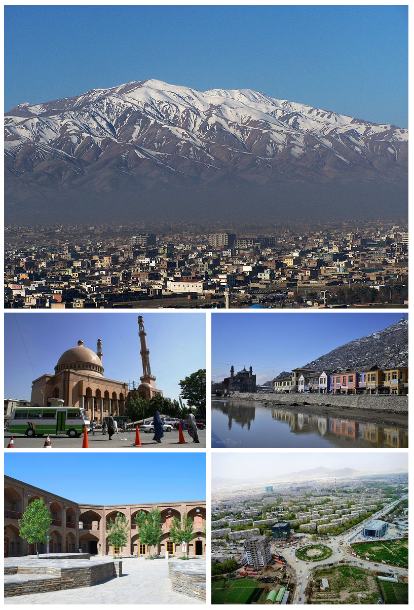 Montage of Kabul City