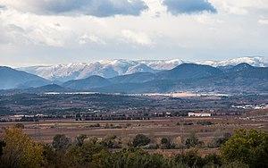 Montagne Noire - The Montagne Noire snow-covered.