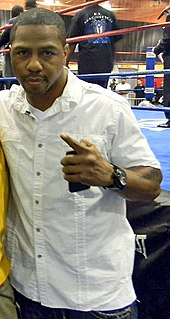 Monte Barrett American boxer