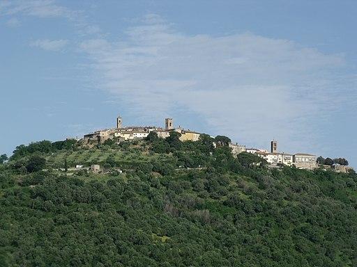 Montepescali, Panorama