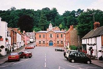 Montgomeryshire - Image: Montgomery Town Hall geograph.org.uk 98025