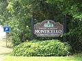 Monticello Welcome sign, US 19sb.JPG