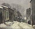 Montmartre, la rue du Mont-Cenis, effet de neige.JPG