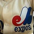 Montreal Expos baseball jersey 1969-1991.jpg
