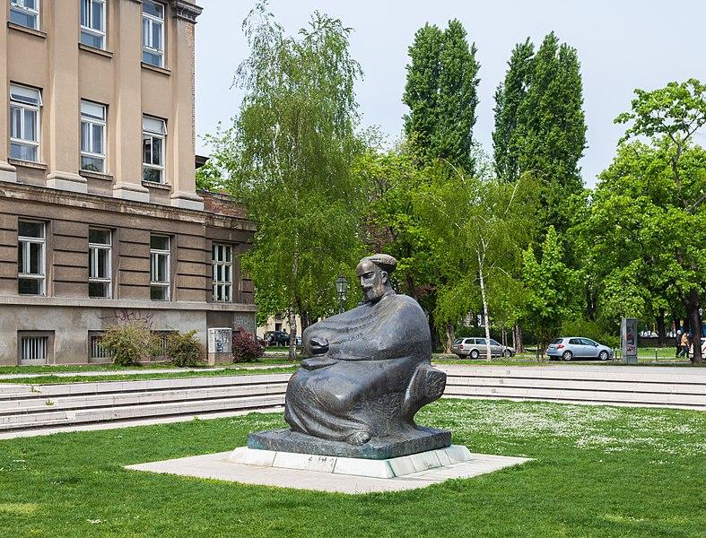 File:Monumento a Marko Marulic, Zagreb, Croacia, 2014-04-20, DD 01.JPG