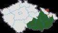 Morava po roce 1920 na mapě Česka.png