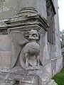 Moreton Corbet Castle Wyvern.JPG