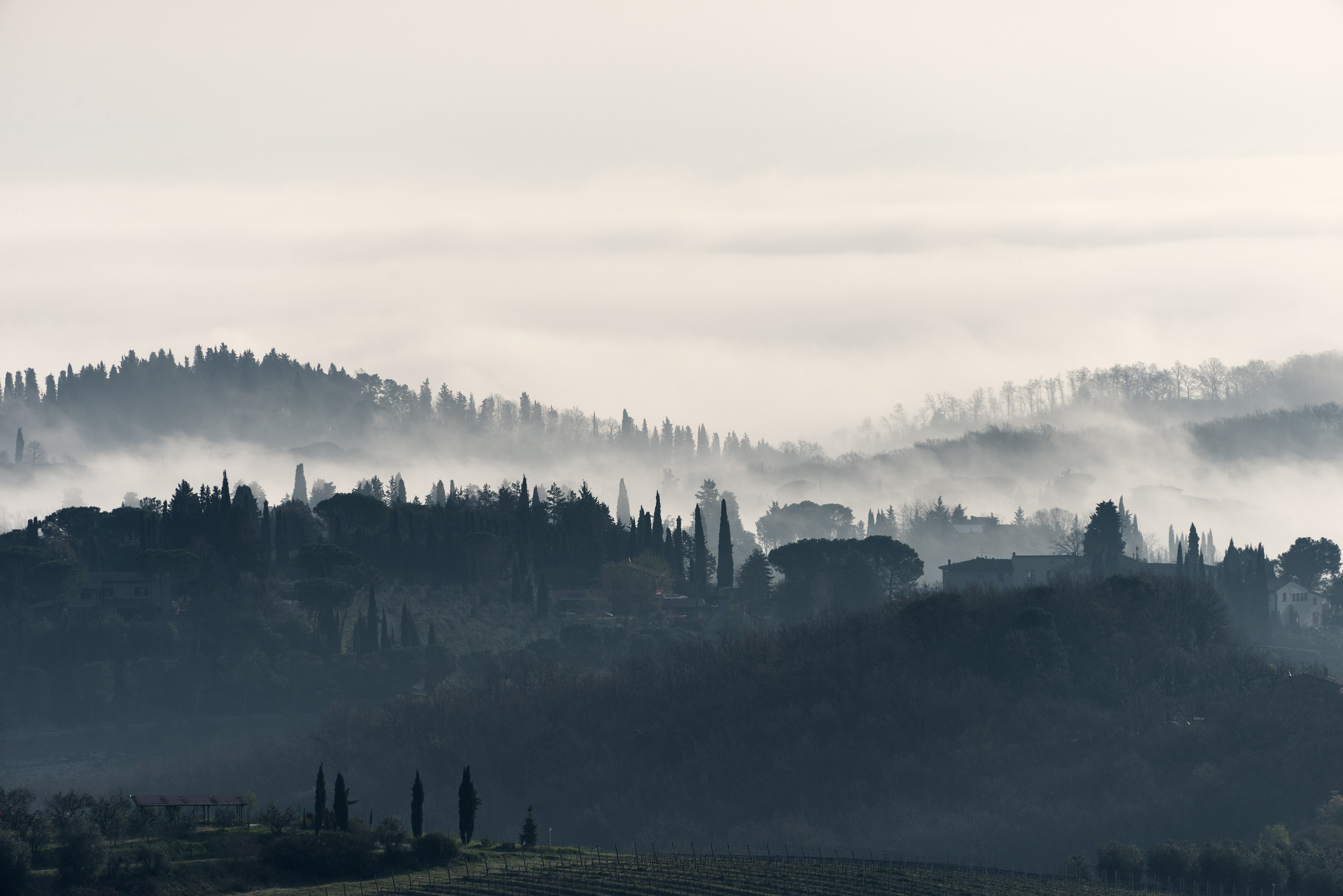 San Gimignano, morning light