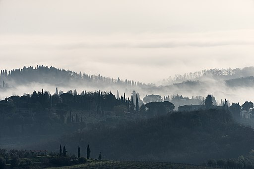 Morning - San Gimignano, Siena, Italy - March 27, 2016 02