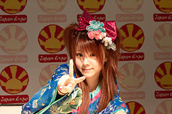 Morning Musume 20100703 Japan Expo 38.jpg