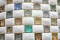 Mosaic Wall at Park Guell by Antonio Gaudi (4209218567).jpg