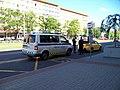 Most, 1. nám., zastávka bus, městská policie (01).jpg