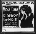 Motion picture advertisements- Riders of the Night, starring Viola Dana LCCN2002711647.tif