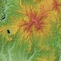 Mount Hotaka (Gunma) Relief Map, SRTM.jpg